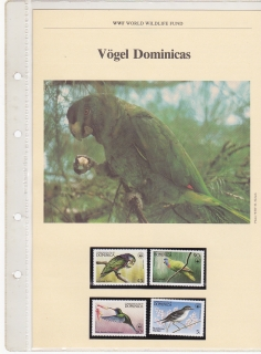WWF - Dominica komplet