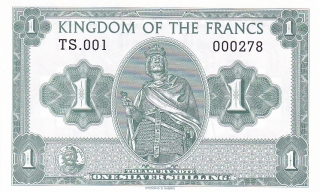1 Silver Šilink - Kingdom Of the Francs, 2016