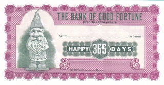 The Bank of Good Fortune, Happy 365 Days, UNC, Santa